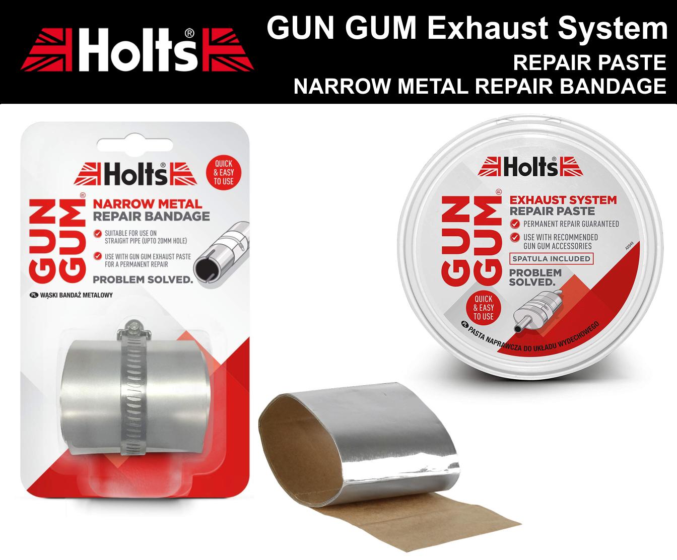 Full Exhaust Silencer Repair Bandage Rap Around Fix Heat Proof For Subaru